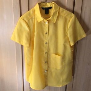 Marc Jacobs yellow T-shirt blouse